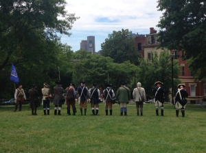 Rifle Demonstration done by Reenactors and lead by Ranger Bill Casey