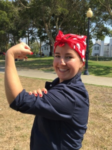 Me in my Rosie the Riveter finest.