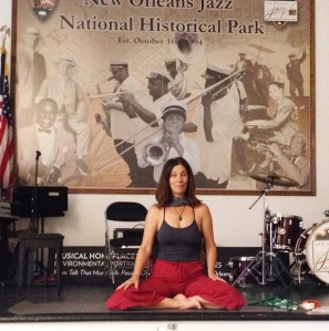 Saturday Morning Jazz Yoga at the Jazz NHP