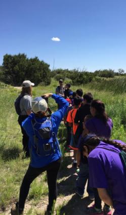 CHAM Trailblazers Find Your Park field trip at GUMO