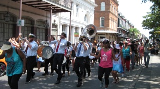 Traditional New Orleans Second Line- Dance to a Brass Band and 'Do what you wanna!'