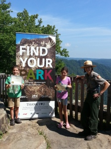 Become a Junior Ranger and Findyourpark with Ranger Eve.