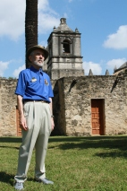 George Dawson at Mission Concepcion