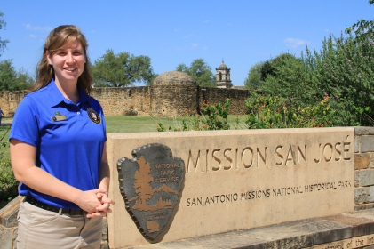 Meara Kelly at Mission San Jose