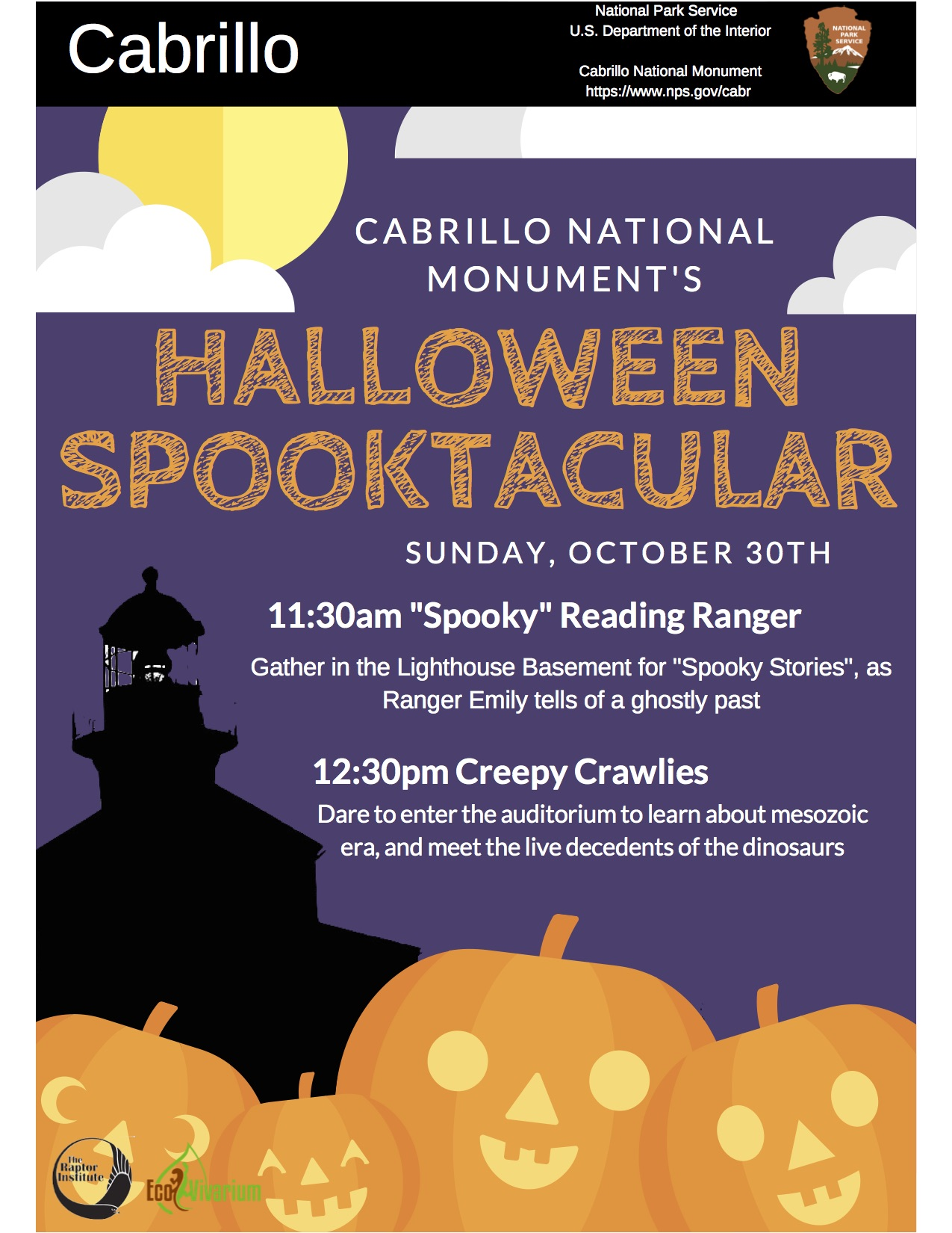 Halloween Spooktacular At Cabrillo Nm Nps100sca
