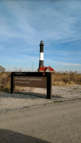 Photograph taken by Thomas Pratt NPS Park Ranger and Fire Island Lighthouse volunteer