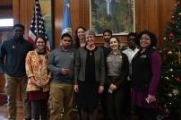 SCA interns meet Secretary of the Interior Sally Jewell