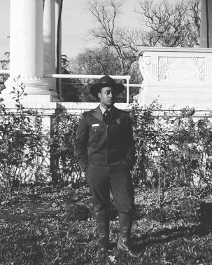 CVA Kam Allen as a 1940s Park Ranger
