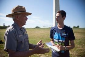 Interviewing NPS Director, Jon Jarvis